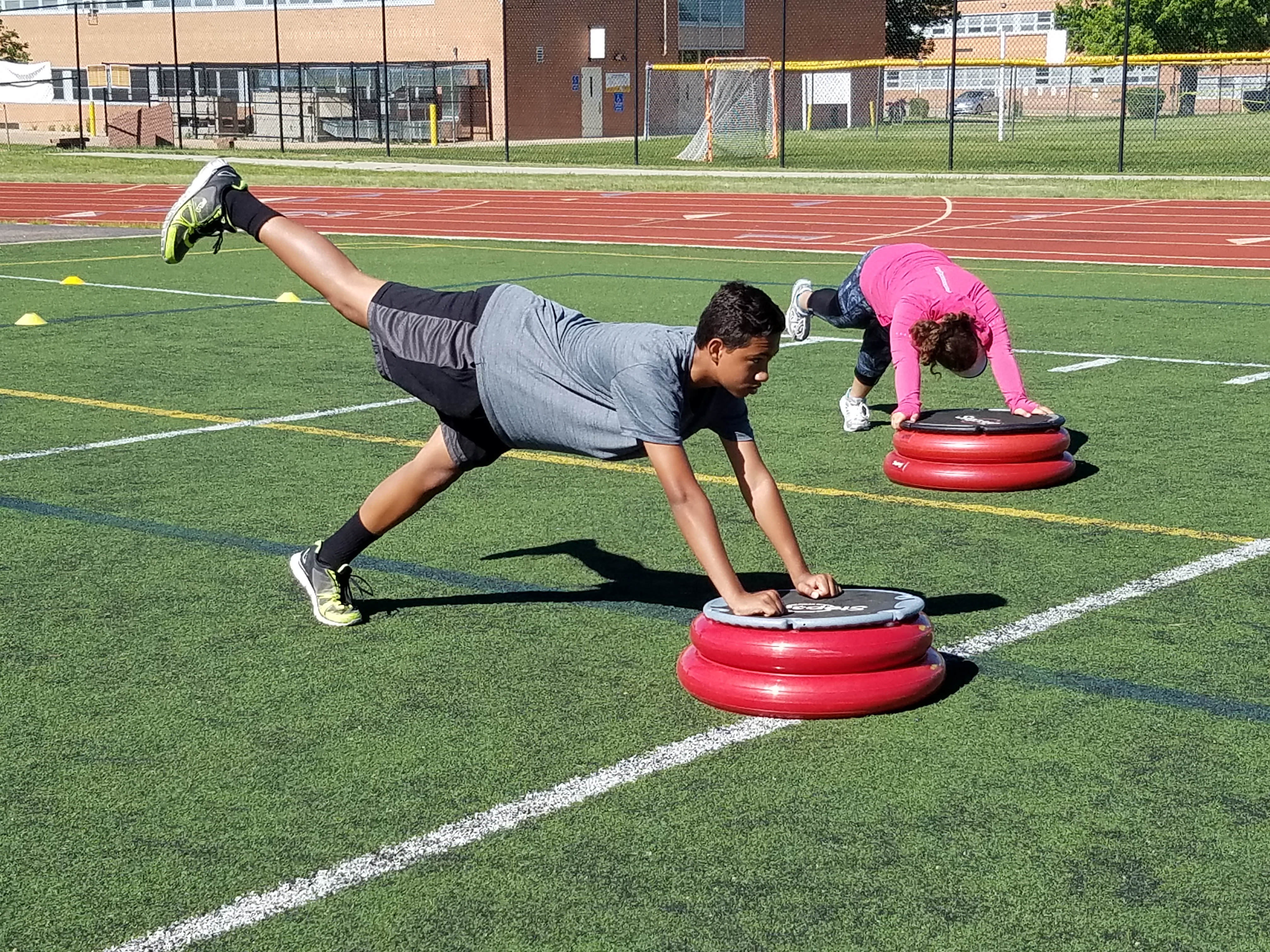 Strong Glutes = Speed